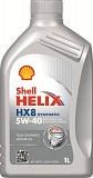 Масло моторное Shell Helix  HX8 Synthetic 5W-40 (1л)