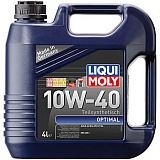 Масло моторное LiquiMoly Optimal 10W-40 SL 3930 п/синт. (4L)